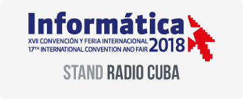 Let's meet at Informática 2018
