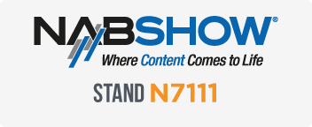 Come Visit us at NAB 2018!