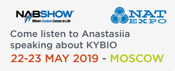 Come listen to Anastasiia at NAT EXPO 2019