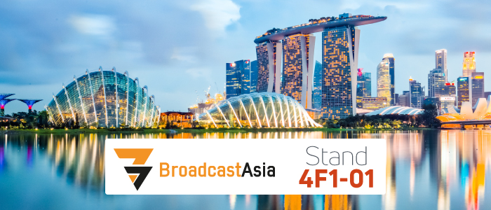 WorldCast Connect at Broadcast Asia 2018
